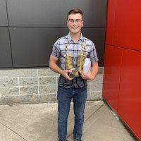Caleb Parker - Colin Hood Ofsaa Award, Volleyball MVP, and Basketball Most Improved