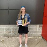 Jenna Fleming - Colin Hood Ofsaa Award, Basketball Points Leader, and Josh Brockelbank SAA Award