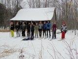 Island Club Hits the Ski Trails