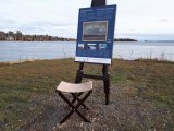Tom Thomson at Bruce Mines Waterfront