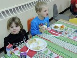 Students Enjoy a Holiday Feast