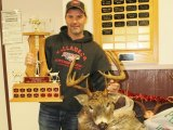 Big buck contest winner Jason Smith.