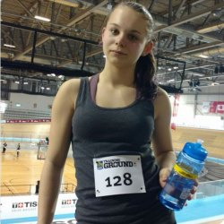 Athlete Mikayla Winter at RBC Training Ground.