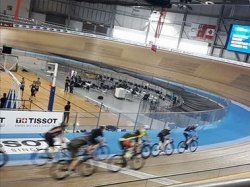 Velodrome at National Cycling Centre.