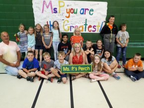 Ms. P Retires from Arthur Henderson