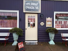Oh Sweet Cheese 'Us Open for Business