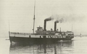 The Chicora - one of the steamships that served the North Shore