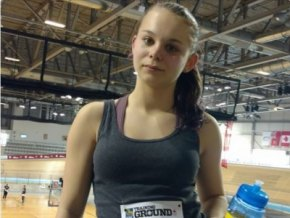 CASS Athlete at RBC Training Ground