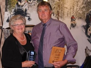 Award winners Paula & Don Matheson.