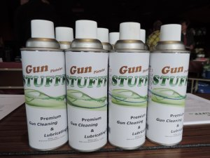 Gun Stufff is a low odour cleaner/lubricant designed for gun owners.