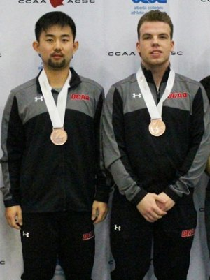 Ethan Zhao (L) and Eric Kern (R)