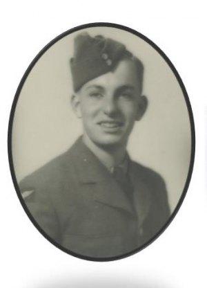 Harold Greydon Kent, 1943, age 18 (enlisted) Royal Canada Air Force (RCAF), 1943-1945