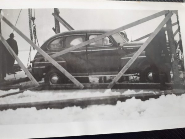 Armstrong car recovered in February 1952.