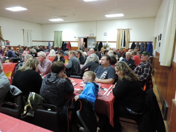 This popular dinner fills the hall to capacity and sells out quickly.