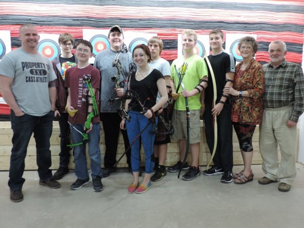 First Ever CASS Archery Team