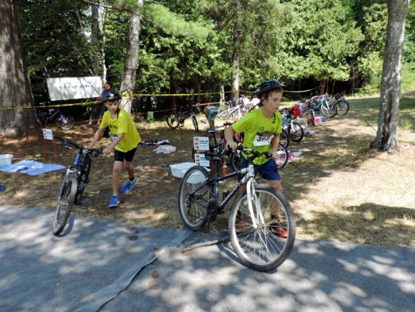 Blazing Heat for Island Triathlon