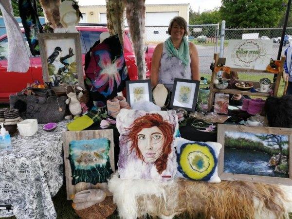 Artist Dawn Allard of Willow Creek Farm.