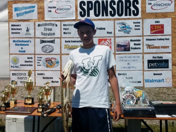 Johnson Big Pike Derby Results