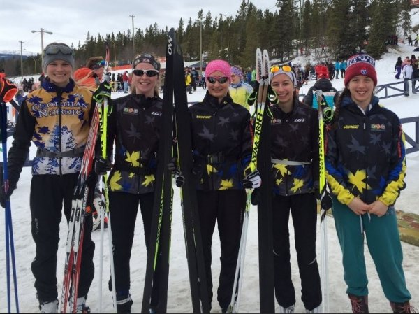 Thessalon Skier Medals at Nationals